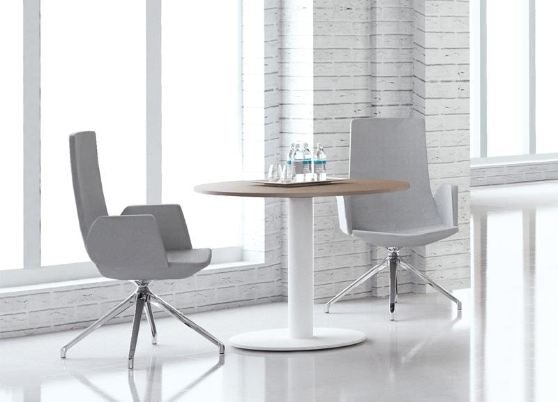 Forum pārrunu telpas galds ar North Cape krēsliem
