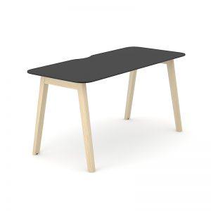 Darba galds ar Fenix virsmu un oškoka kājām