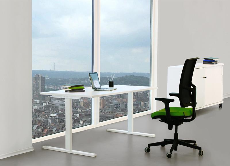 Narbutas T-EASY fiksēta augstuma galds ar ergonomisku krēslu