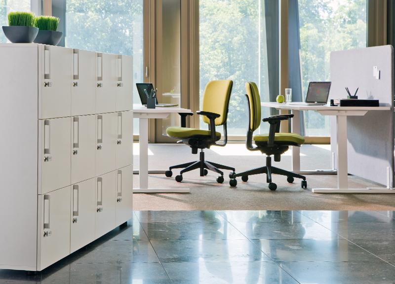 T-EASY fiksēts galds mūsdienīgā birojā