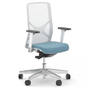 WIND biroja krēsls ar silikonaa muguras balstu