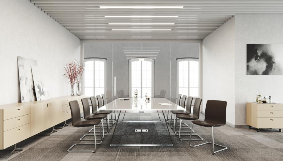Krēsli COM apspriežu telpai