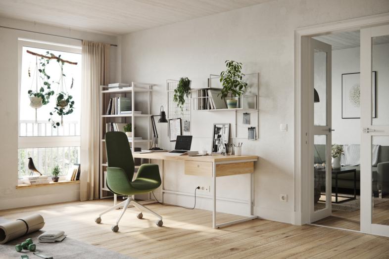 Ellie Pro biroja krēsls mājas birojam