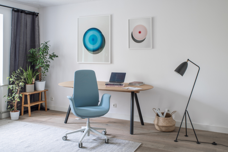 Ellie Pro darba krēsls mājas birojam
