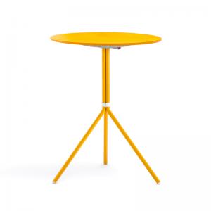 dārza galds ar apaļu virsmu Nolita