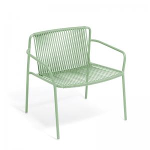 Metāla dārza atpūtas krēsli Tribeca