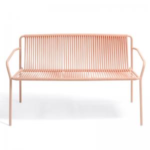 Metāla dārza dīvāns Trebeca