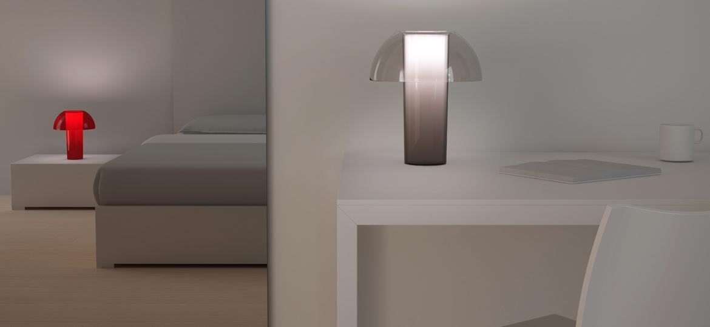 Colette maza un vidēja izmēra nakts lampa dažādās krāsās viesnīcām, restorāniem un mājām