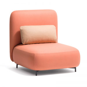 Modulārs atpūtas krēsls Buddy no itāļu uzņēmuma Pedrali mājām, birojiem un viesnīcām