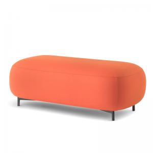 Modulārs atpūtas krēsls, dīvāns un modulāri pufi Buddy no itāļu uzņēmuma Pedrali mājām, birojiem un viesnīcām