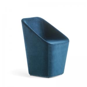 Pilnībā polsterēts apmeklētāju krēsls LOG kafejnīcām, restorāniem un viesnīcām