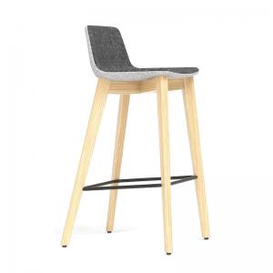 TANGO augstais krēsls ar koka vai metāla kājām