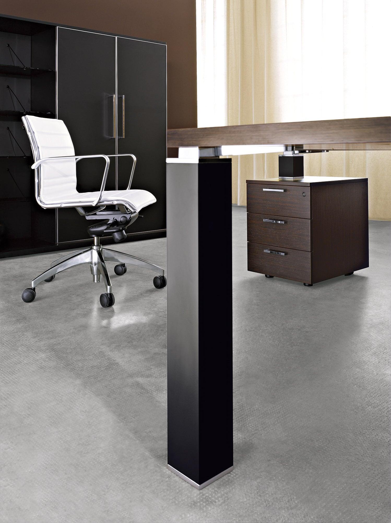 Vienkāršs un modulārs Tao vadīāja galds ar metāla vai koka kājām