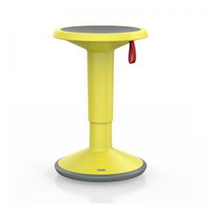 UPis1 aktīvais krēsls ir ērti lietojams pie elektriski augstumā regulējamiem galdiem pateicoties maināmajam augstumam un mazajam svaram