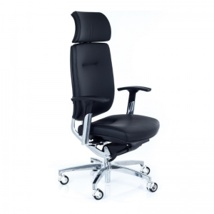Vadītāja biroja krēsls Spirit ar patentētu mehānismu