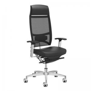 Vadītāja biroja krēsls Spirit Air ar tīkliņauduma atzveltni un patentētu mehānismu