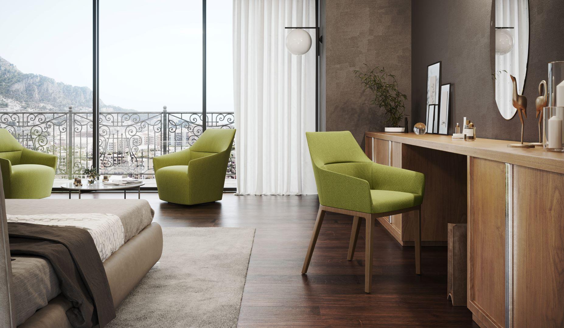 Mīkstie atpūtas krēsli mājai, viesnīcai un birojam no Profim