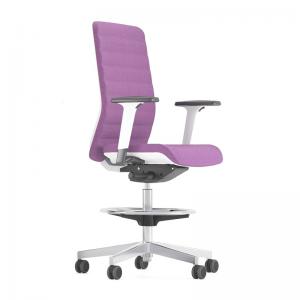 augstais biroja krēsls ar muguras balstu