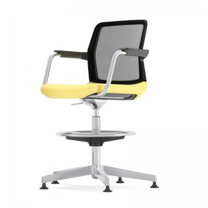WIND augstais biroja krēsls ar zemu atzveltni