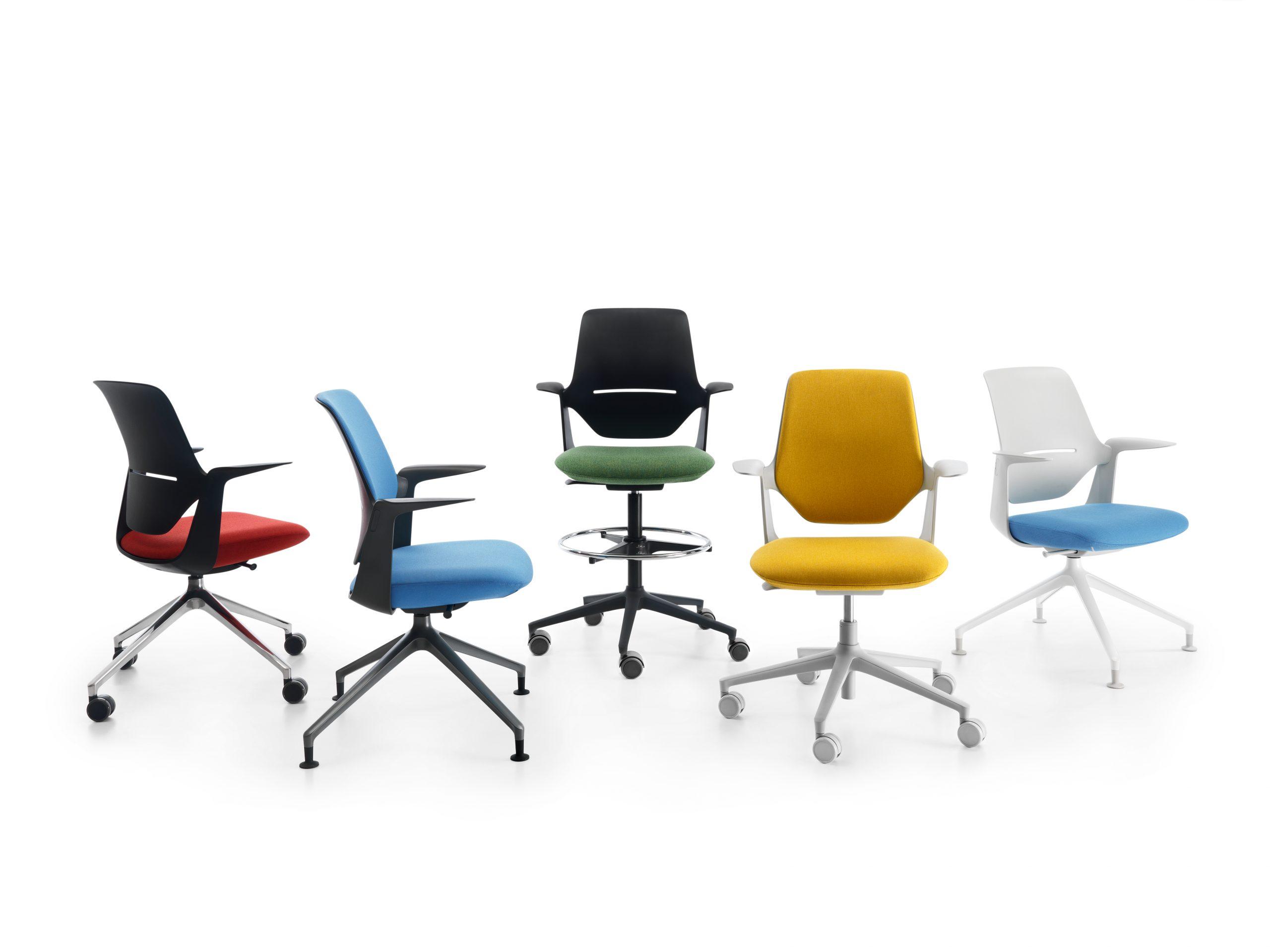Universāls krēsls darbam, skolēna mācībām un mājas birojam
