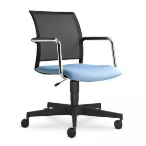 LOOK apspriežu krēsls ar dažādām pamatnēm