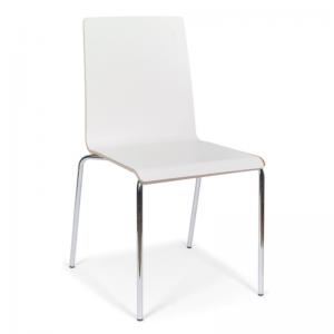 MOON apmeklētāju krēsls ar saplākšņa korpusu