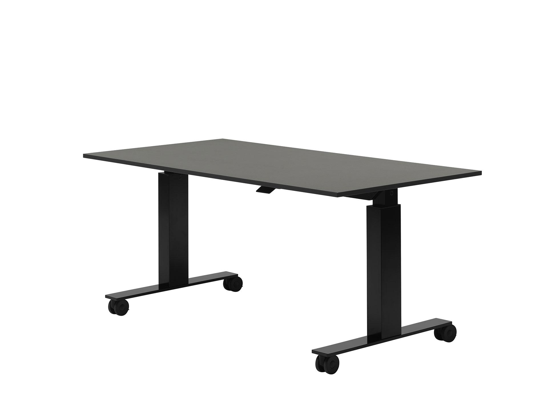 Follow augstumā regulējams galds ar nolokāmu virsmu
